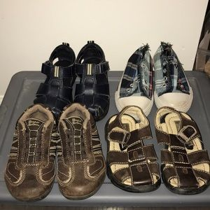 Toddler size 7 shoes lot of 4